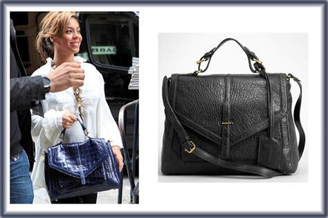 Get Beyonces Bag by Beyonc 233 Carries Burch S 797 Satchel