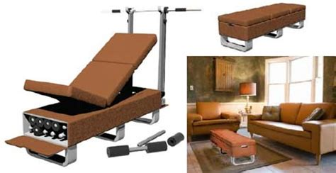 couch sport furniture that transforms into a little gym freshome com