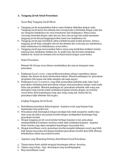 Tanggung Jawab Hukum Dan Sanksi Bagi Dokter Ii tanggung jawab sosial perusahaan dan keadilan dalam bisnis