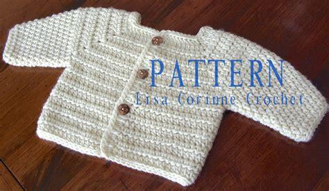 pattern cardigan baby crochet baby sweater pattern baby boy crochet sweater patterns