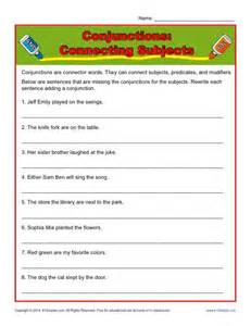3rd grade conjunction worksheets in addition healthy food plate