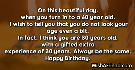 Happy Birthday Quotes For 60 Years 60th Birthday Sayings