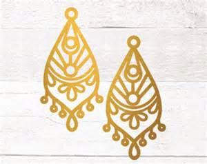 Gold Home Decor mandala stencil etsy