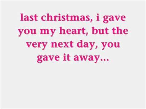 last christmas lyrics printable version ashley tisdale last christmas lyrics by lyricsxx1 youtube