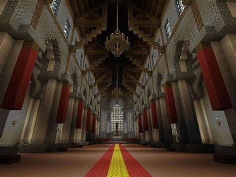 minecraft throne room 1 1 fable 2 castle fairfax minecraft project