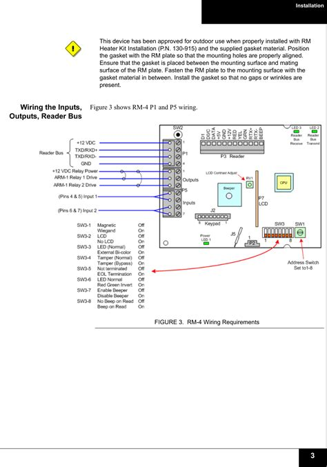 software house rm4 wiring diagram circuit and schematics