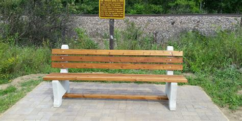 concrete park bench molds our customer photos eagle scout projects and outdoor benches