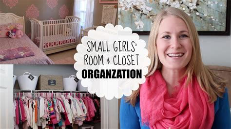 Bedroom Ideas For Little Girls budget organizing small girls room amp closet youtube