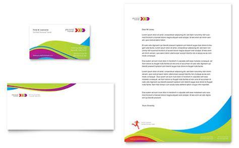 personal brochure templates personal trainer brochure template design
