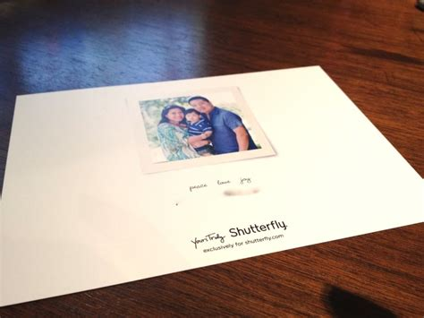 shutterfly holiday card review 2012 photobookgirl com - Shutterfly Gift Card