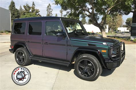 mercedes g class blacked out mercedes wrapped in satin lightning ridge wrap bullys