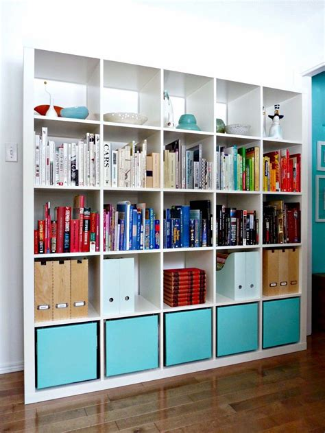 idea bookshelves different ways to use style ikea s versatile expedit shelf