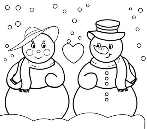 christmas tree and snowman coloring pages christmas coloring pages snowman