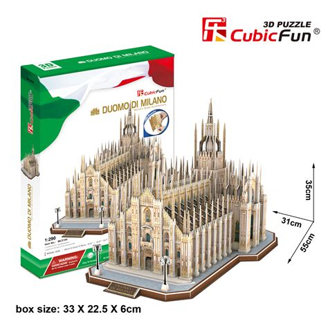 Best Seller Cubic Puzzle 3d The Dome Of The Rock Large Size 5 3d jigsaw puzzles italy cubic set italy 756 pieces