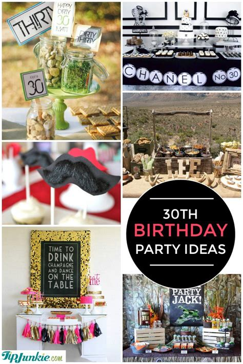 28 amazing 30th birthday ideas also 20th 40th