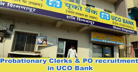 Uco Bank Joining Letter probationary clerks po recruitment in uco bank