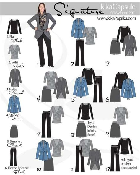 capsule wardrobe for retired women grey blue capsule wardrobe women pinterest