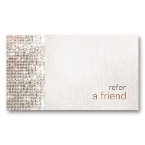 Refer A Friend Card Template by Modern And Hip Sequins Refer A Friend Salon Coupon