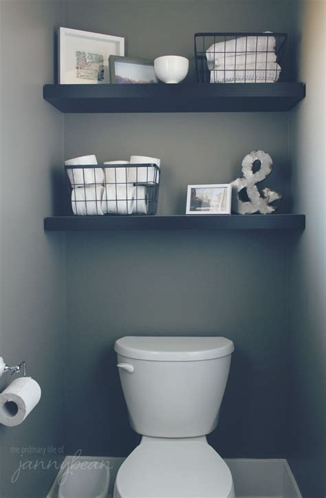 cheap bathroom shelves best 25 downstairs bathroom ideas on