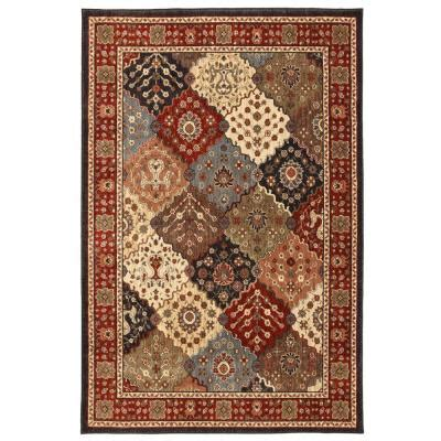Home Depot Area Rugs Clearance Pemberton Carmin 5 Ft 3 In X 7 Ft 6 In Area Rug 388683 The Home Depot
