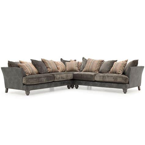 grey fabric corner recliner sofa hyde grey fabric corner sofa f d brands