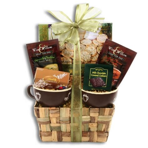 soup for two holiday gift basket aagiftsandbaskets com