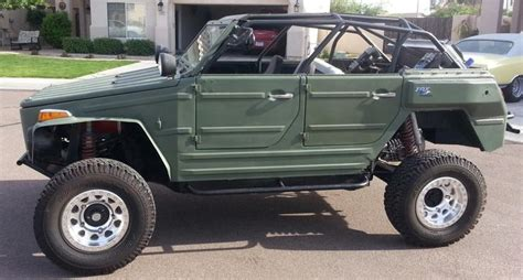 volkswagen thing 4x4 lifted vw thing vw 181 thing k 252 bel pinterest