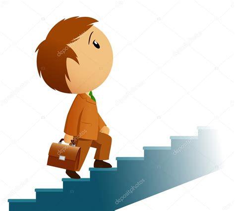 subir imagenes html gratis 与公文包穿褐色西装的男性商人爬楼梯 图库矢量图像 169 acidburn 6487763