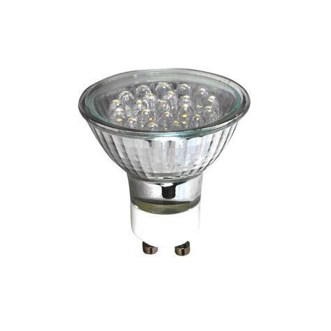 eveready gu10 led 1w 21led 3000k warm white spot light