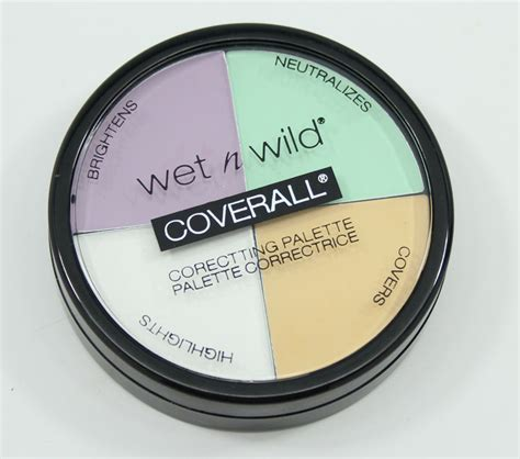 City Color Corrector Wheel Palette n coverall correcting palette vy varnish