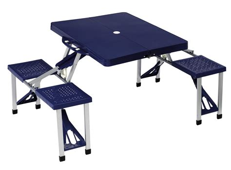 fold up cing chairs ebay halfords folding picnic table blue aluminium 4 plastic