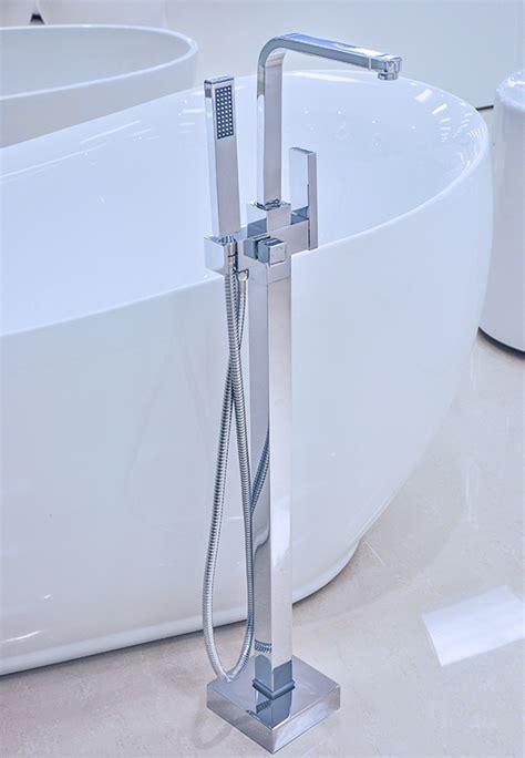 modern bathtub faucets lecce modern freestanding bathtub faucet