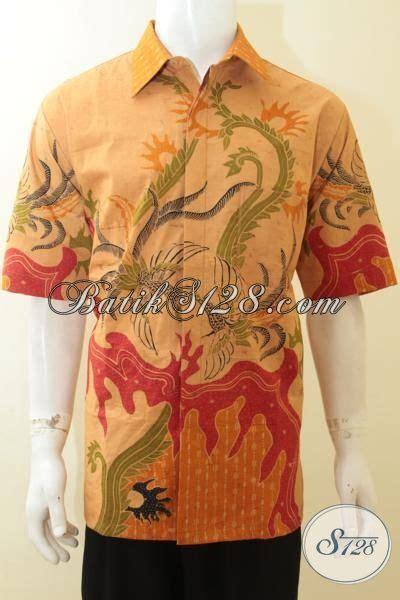 Kemeja Batik Slimfit Cbs 151 Premium busana batik lengan pendek daleman furing buatan baju batik tulis premium pria dewasa