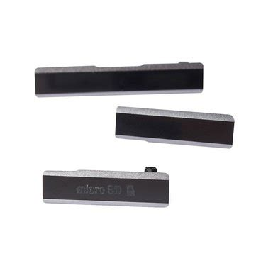 Port Usb Xperia Z1 Micro Sd And Usb And Sim Card Slot Port Cover For Sony