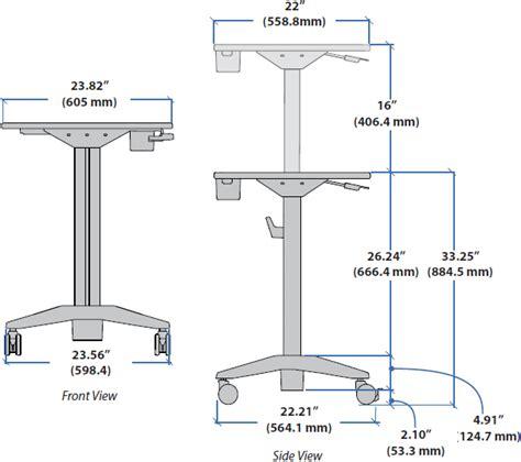 how to adjust ergotron standing desk learnfit adjustable standing desk ergotron 24 481 003