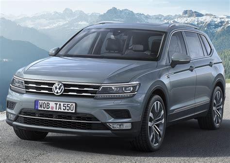2019 vw tiguan 2019 volkswagen tiguan review release date design