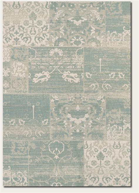 country cottage rugs couristan afuera country cottage 5569 0803 sea mist ivory rug