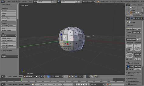 edit video with blender tutorial modeling why does blender select random faces in edit