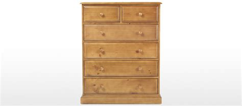 6 Draw Chest Of Drawers by Essentials Pine 6 Drawer Chest Of Drawers Quercus Living