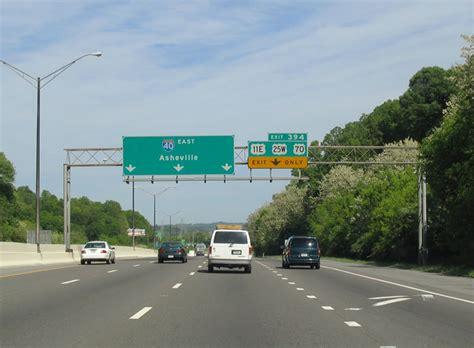 interstate  east knoxville  north carolina aaroads