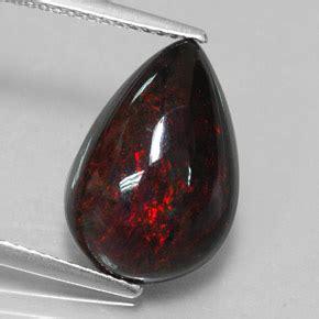 Black Opal 4 2 Ct black opal 4 2 carat pear from gemstone
