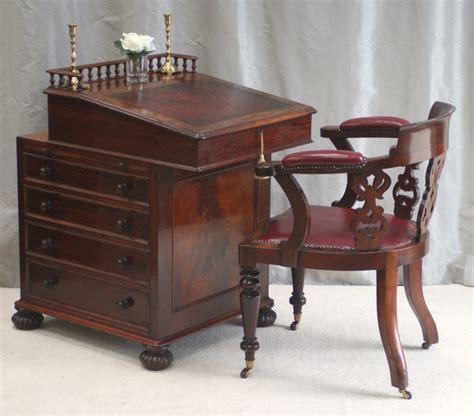 antique antique davenport desk james winter sons