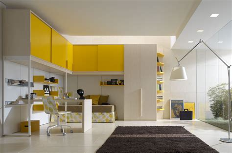 bright and elegant teenager bedroom designs from zalf