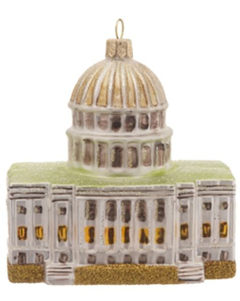 Capitol Washington DC Christmas Ornament   City
