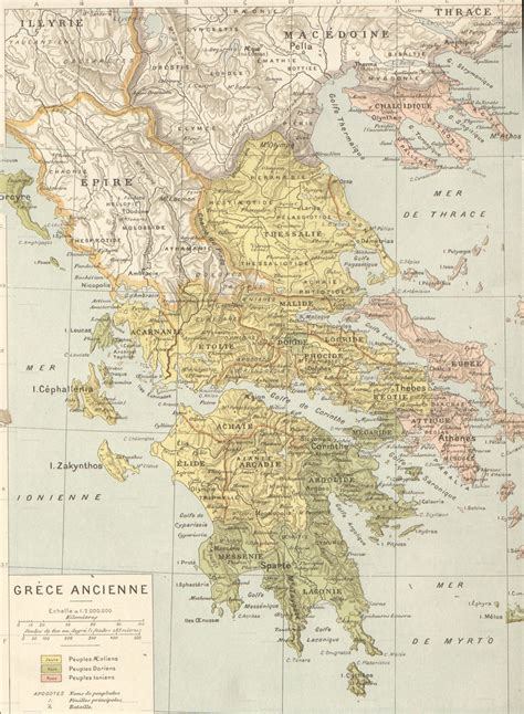 Grecia Antica | cartina muta della grecia da stare