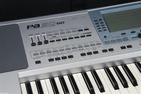 Keyboard Korg Pa50sd Second korg pa 50 sd style
