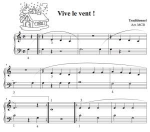tutorial piano vive le vent petit piano no 235 l quand tu descendras du ciel