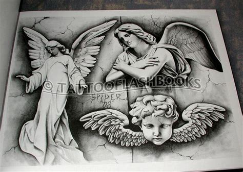 tattoo flash of angels gangster tattoo flash tattoo flash chicanos tattoos