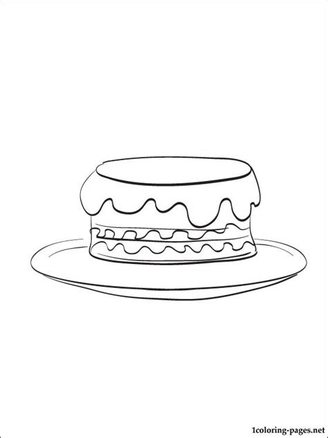 christmas cake coloring pages christmas cake coloring page for free coloring pages