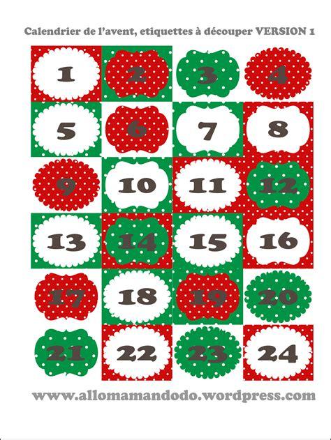 Calendrier De L Avent Diy à Imprimer 3 Id 233 Es De Calendriers De L Avent 224 Imprimer Et Faire Soi